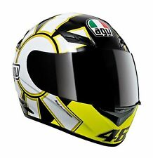 New  AGV K3 Gothic Valentino Rossi 46 Full Face Motorcycle Helmet