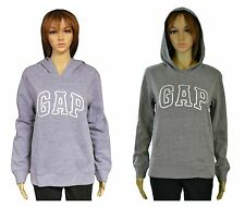 Gap Women's GAP Logo Hoodie Blue or Gray Pullover Sweatshirt New w/Tags $42.99