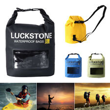 Waterproof Dry Bag Sack - 8L for Beach Canoe Kayak Fishing Camping Boating