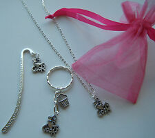I Love to Cook necklace or bookmark or keyring birthday Cookery Cooking Gift