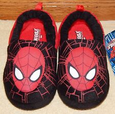 *NWT* Marvel ULTIMATE SPIDER-MAN Plush SLIPPERS sz. 5/6, 7/8, 9/10, 11/12 & 13/1