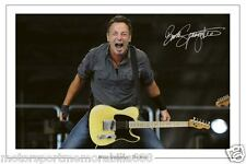 BRUCE SPRINGSTEEN AWESOME SIGNED 6x4 PHOTO PRINT THE BOSS