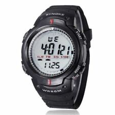 New Fashion Men Sport Watches SYNOKE Brand LED Electronic Digital Watch 50M Wate