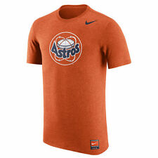 Nike MLB Authentic Collection Cooperstown Retro Houston Astros Tri Blend T-Shirt