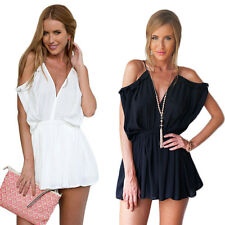 Women Rompers V-Neck Jumpsuits Strap Beach Sexy Short Fashion New Summer