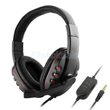 Computer Over Ear Stereo Headphones With Mic Noise Isolating for PC