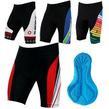 3D Gel Padded Mens Cycling Shorts Bicycle Bike Tights Lycra Pants Cycle Clothing