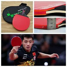 1 PC Training Table Tennis Racket Bat With Bag Ping Pong Paddle Carbon Fiber