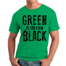 Humor The New Black Men's Heather Irish Green Funny T-shirt NEW Sizes S-2XL