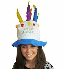 Felt Birthday Cake With Candles Hat - Hilarious Felt Birthday Cake With Candles