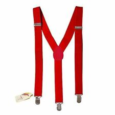 Suspenders - Skinny Suspenders - Adjustable Suspenders w/ Braces - Y-Back Elasti