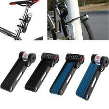 Anti-cut Folding Bike Lock Anti-drilling Steel Bicycle Lock Keys/Password Style