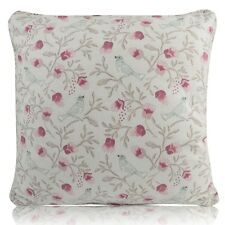 """Bird Trail song Pink And Cream (Chintz) FILLED CUSHION / COVERS 14""""- 20"""""""