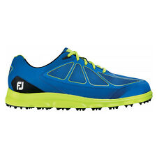 New Mens FootJoy FJ SuperLites CT Closeout Golf Shoes 58002 Blue/Green- Any Size