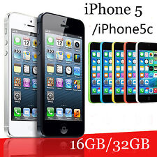 Various Colours Apple iPhone 5 5C 16G/32GB Unlocked Smartphone Mobile Phone 4""