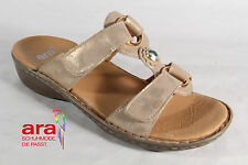Ara Mules Mules Leather, beige, touch fastener new