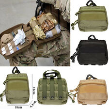 1000D Molle Military EDC Utility Army Tool Bags 18cm First Aid Pouch Case Bag.A