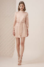 NEW KEEPSAKE LOVERS LONG SLEEVE MINI DRESS nude