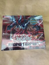 Yu-Gi-Oh Raging Tempest 1st Edition U.S English SEALED Booster Box Yugioh