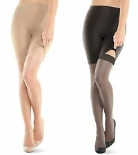 Assets SPANX Ultimate Ultra Shaping Sheers Removable Stockings 845B