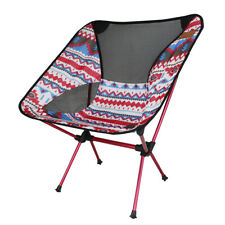 Lightweight Foldable Moon Chair Portable Outdoor Fishing Seat Camping Picnic BBQ