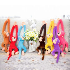 Long Arm Hanging Cute Monkey Soft Plush Toys Stuffed Animal Gift for Baby Kids