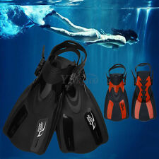 Pro Dive Fins Flippers Full Foot Shoes for Scuba Diving Swimming Pool Snorkeling