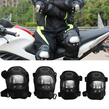 4Pcs Motorcycle Off-road Racing Rider Elbow & Knee Pads Armor Protective Guard