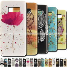 Various Rubber Gel Skin TPU Shell Case Cute Silicone Soft Cover Back For Samsung