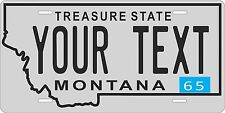 Montana 1965 License Plate Personalized Custom Auto Bike Motorcycle Moped tag