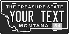 Montana 1954 License Plate Personalized Custom Auto Bike Motorcycle Moped tag