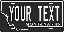 Montana 1945 License Plate Personalized Custom Auto Bike Motorcycle Moped tag