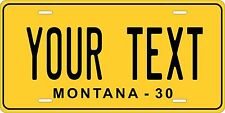 Montana 1930 License Plate Personalized Custom Auto Bike Motorcycle Moped tag