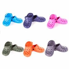 Beach Clogs for Ladies and Men Colourful Crocs Style Footwear Adult Sizes