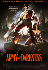 ARMY OF DARKNESS MOVIE POSTER SIGNED CAST RARE COLLECTIBLE