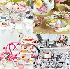 TALKING TABLES TRULY SCRUMPTIOUS, ALICE, FAIRY FLAMINGO TEA PARTY DECORATIONS