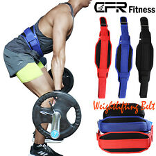 CFR Weight Lifting Belt Gym Training Gloves Wrist Support Bandage Wraps Pair AP