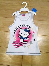Girls Hello Kitty 'Practice Makes Perfect'  Summer Vest Top 3 years to 10 years