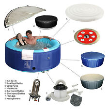 INFLATABLE HOT TUB BUBBLE SPA SPARE PARTS 4 PERSON FAMILY PORTABLE JET JACUZZI