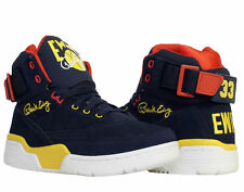 Ewing Athletics Ewing 33 Hi Navy/Yellow/Red Men's Basketball Shoes 1EW90128-433