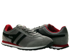 Gola Boston Grey/Black/Red Men's Running Shoes CMA297GB