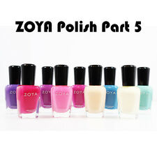NEW ZOYA Nail Polish Lacquer 0.5oz Assorted Colors Part 5...Choose Your Colors