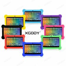 XGODY 7'' Kids Tablet PC Android 4.4 Quad Core Camera HD Screen Children Pad 8GB