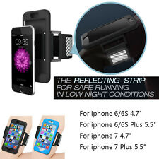 2 in1 Silicone Case + GYM Armband Sport Running Belt Wrist Band Strap For iPhone