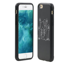 Bear Girl Touch Screen Flip Full Cover Case for iPhone 6 7 Samsung S7 Edge Great
