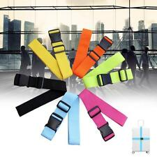Adjustable Suitcase Luggage Straps Travel Baggage Tie Down Belt Lock Packing #A