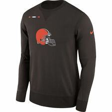 Nike Therma-FIT 2017 NFL Cleveland Browns Logo Performance Crew Sweatshirt