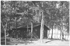 Real Photo Postcard Cabin @ In The Wilds Resort in Swift Lake, Minnesota~101765