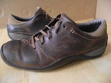 Merrell. Oak Tan Leather Shoes Trainers. Size 9
