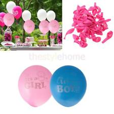 """MagiDeal 100pcs 12"""" Its A Boy Girl Latex Balloons Baby Shower christening Party"""